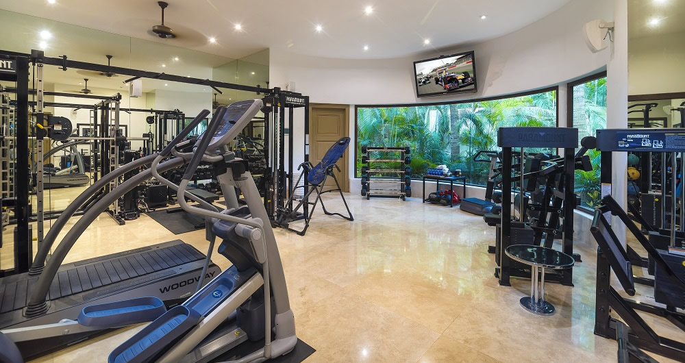 Gym on Casa Aramara