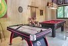 Air Hockey and Pool Table in Game Room Casa Aramara Punta de Mita