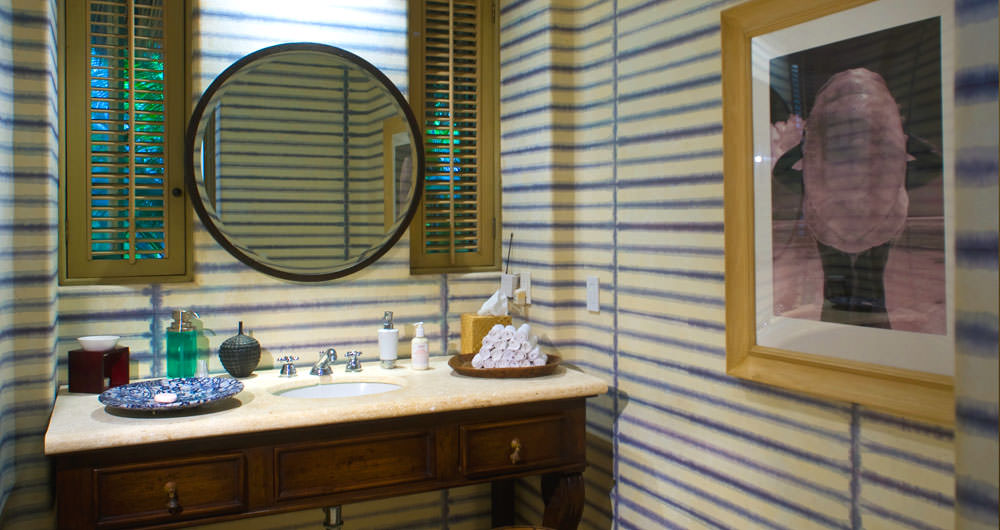 Casa Aramara luxurious bathroom detail
